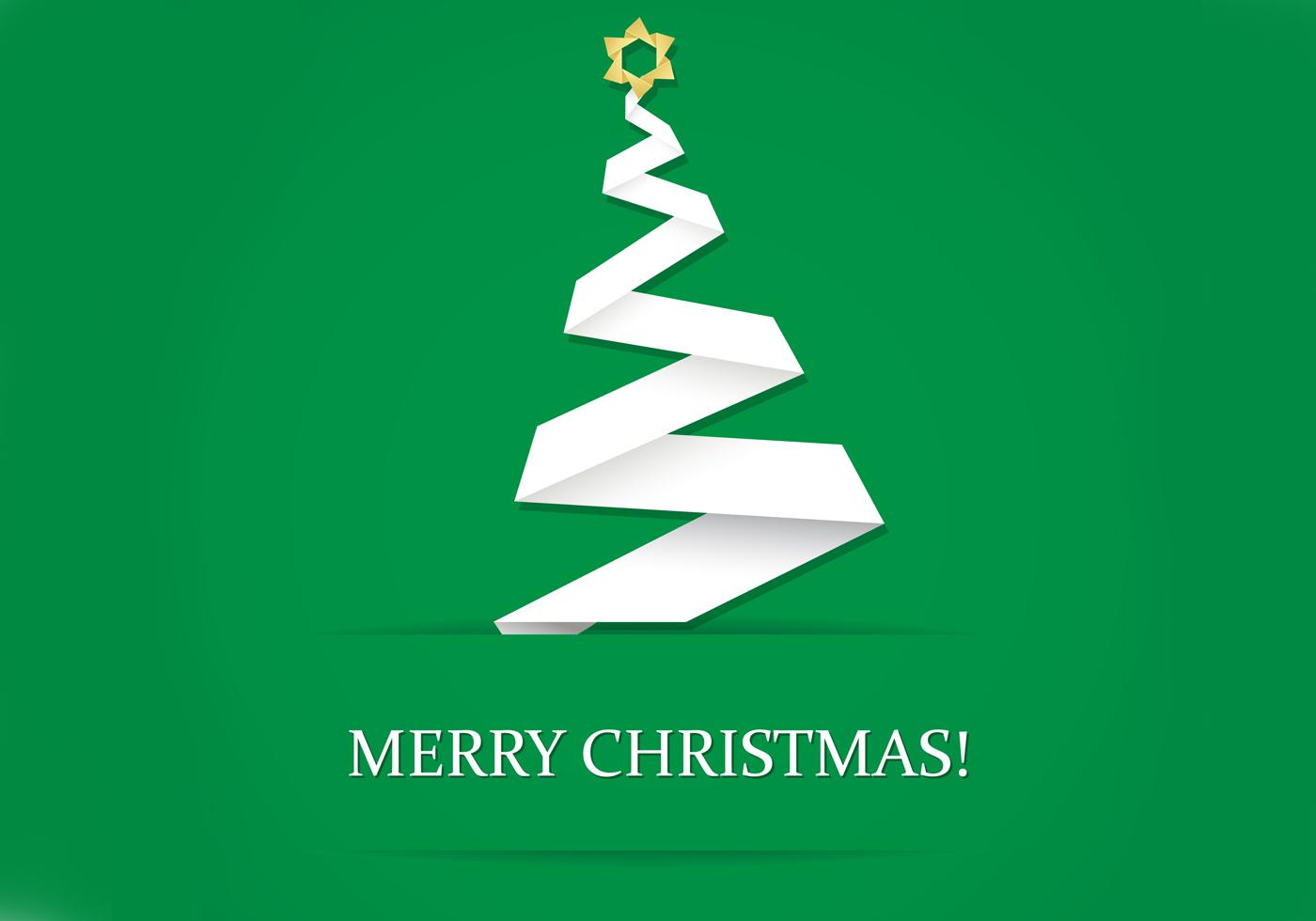 Santa Claus Wallpaper Hd Origami Christmas Tree Wallpaper And Brush Pack Free
