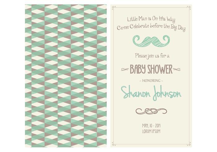 Baby Boy Shower Invitation PSD - Free Photoshop Brushes at Brusheezy!