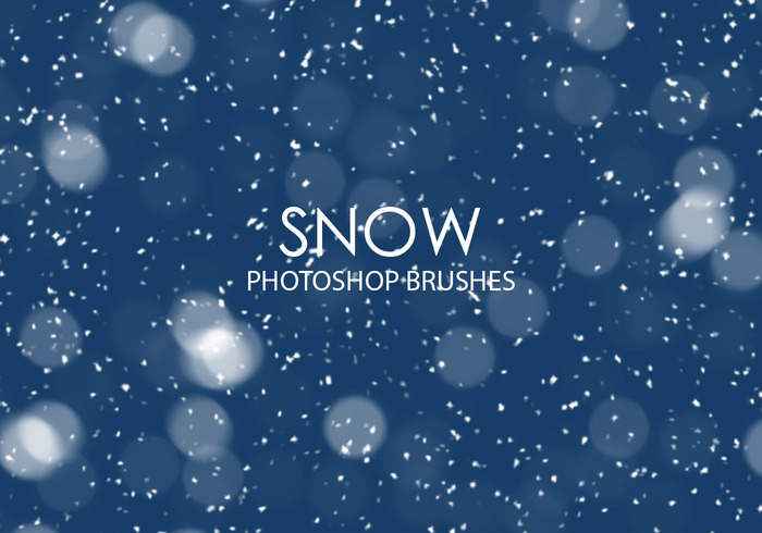 Christmas Snow Falling Wallpaper Free Snow Photoshop Brushes Free Photoshop Brushes At