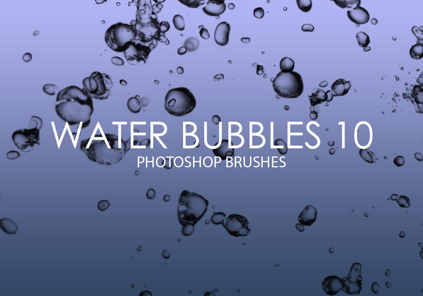Photoshop Software Libre Free Water Bubbles Pinceles Para Photoshop 10 Pinceles