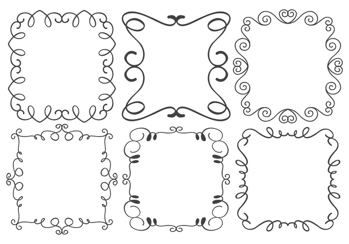 Decorative Frame Brushes Collection - Free Photoshop Brushes at