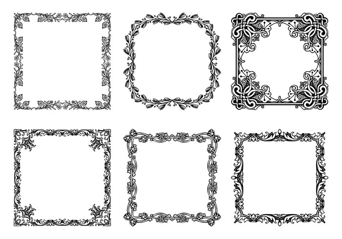Beautiful Frame Brushes Collection - Free Photoshop Brushes at
