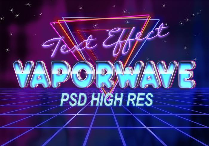 Vaporwave Text Effect PSD - Free Photoshop Brushes at Brusheezy!