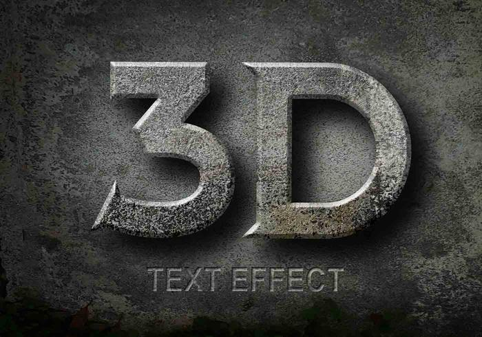 3D Text Effects PSD - Free Photoshop Brushes at Brusheezy!