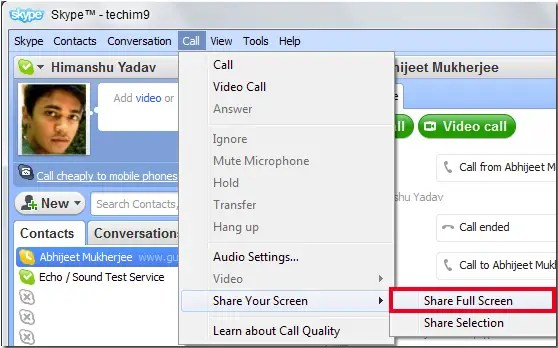 How To Share Your Screen On Skype - Business Insider