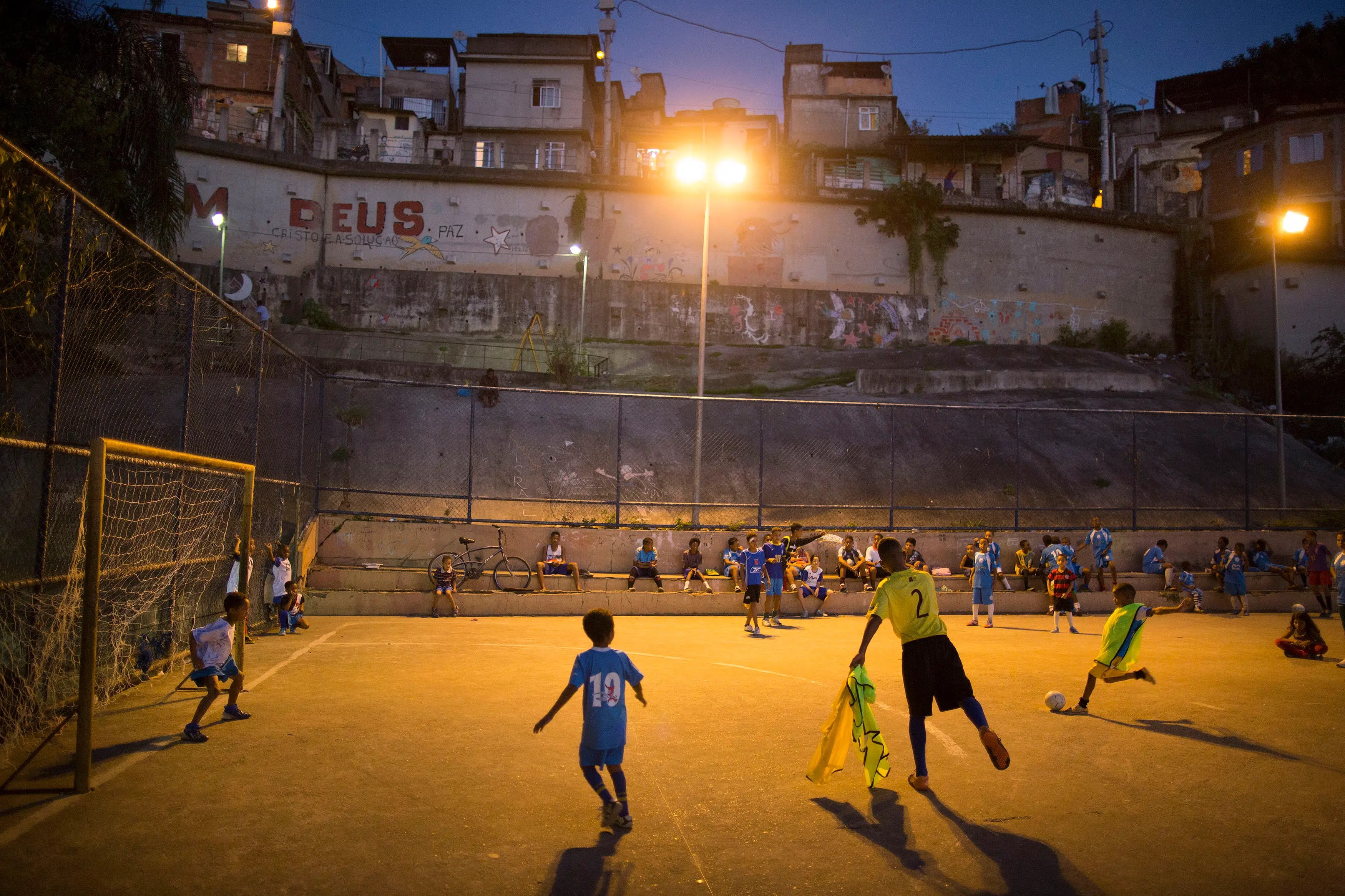 Christ The Redeemer Hd Wallpaper Gorgeous Photos Of Kids Playing Soccer In Brazil S Slums