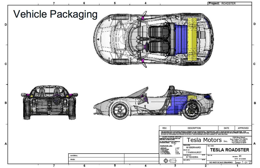 tesla roadster motor diagram
