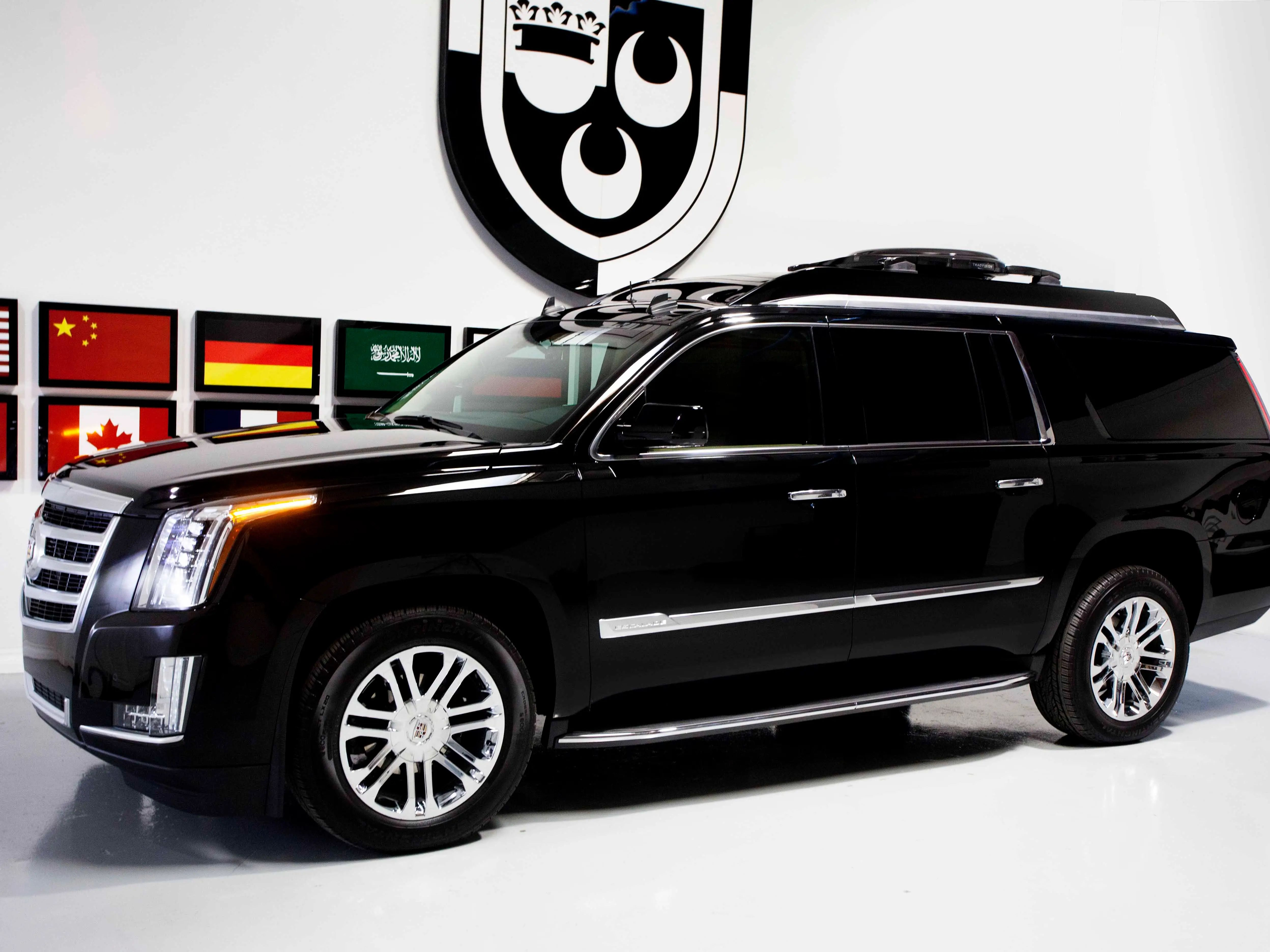completely custom cadillac escalade