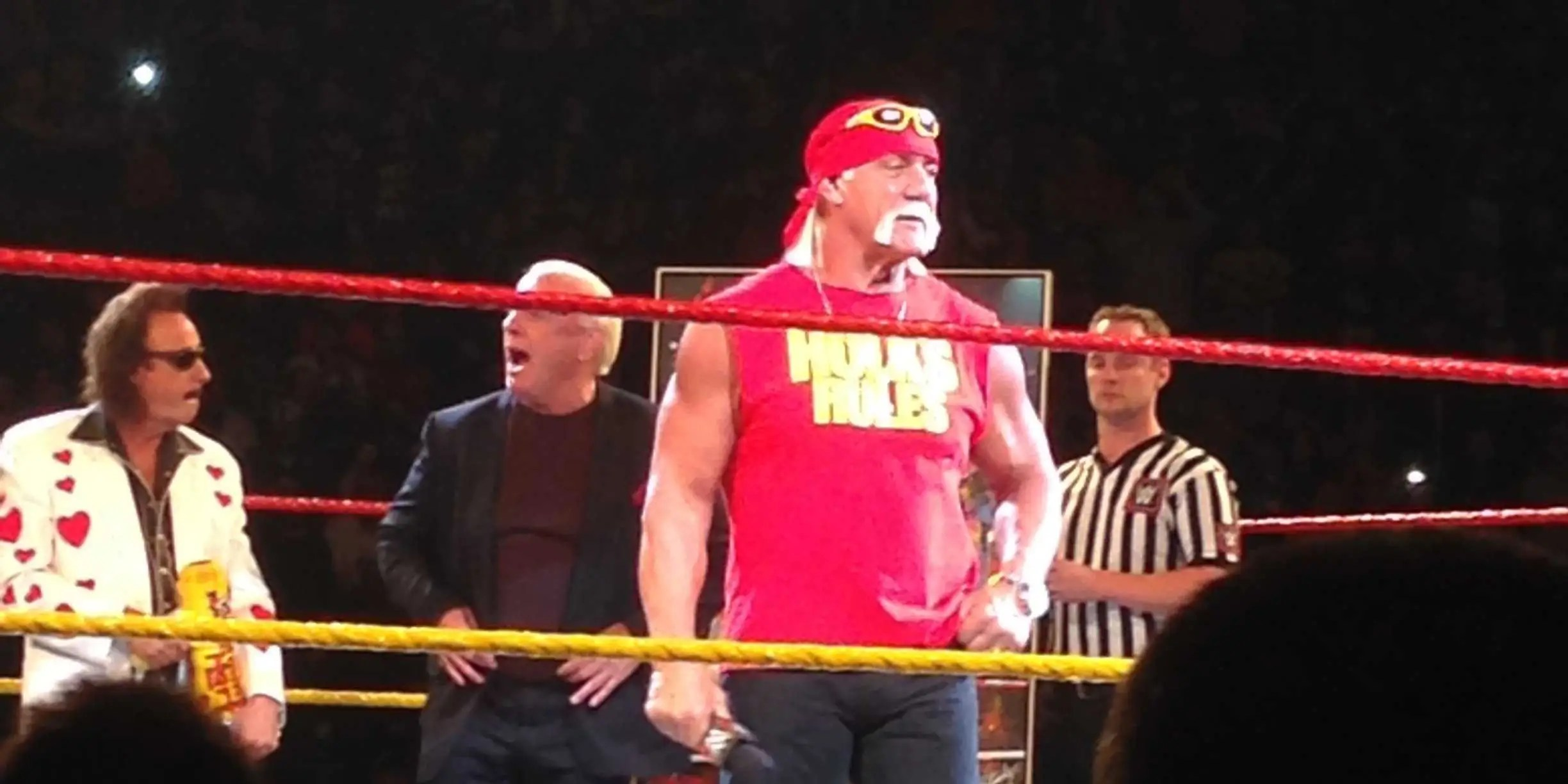 Wwe Hulk Hogan Wwe Put On Its Best Show Ever And It Wasn 39t Even