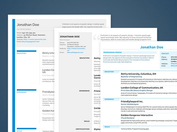 Write the perfect resume with Resumonk resume creator - Business Insider