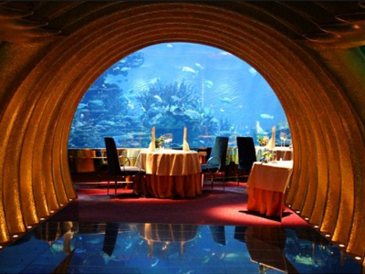 What it's like to dine at Dubai's incredibly luxurious Burj Al Arab hotel | Business Insider