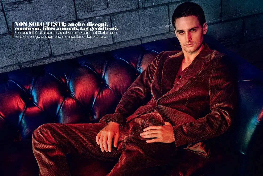 Spiegel 24 Look At Snapchat Ceo Evan Spiegel S Bizarre Vogue Shoot Business