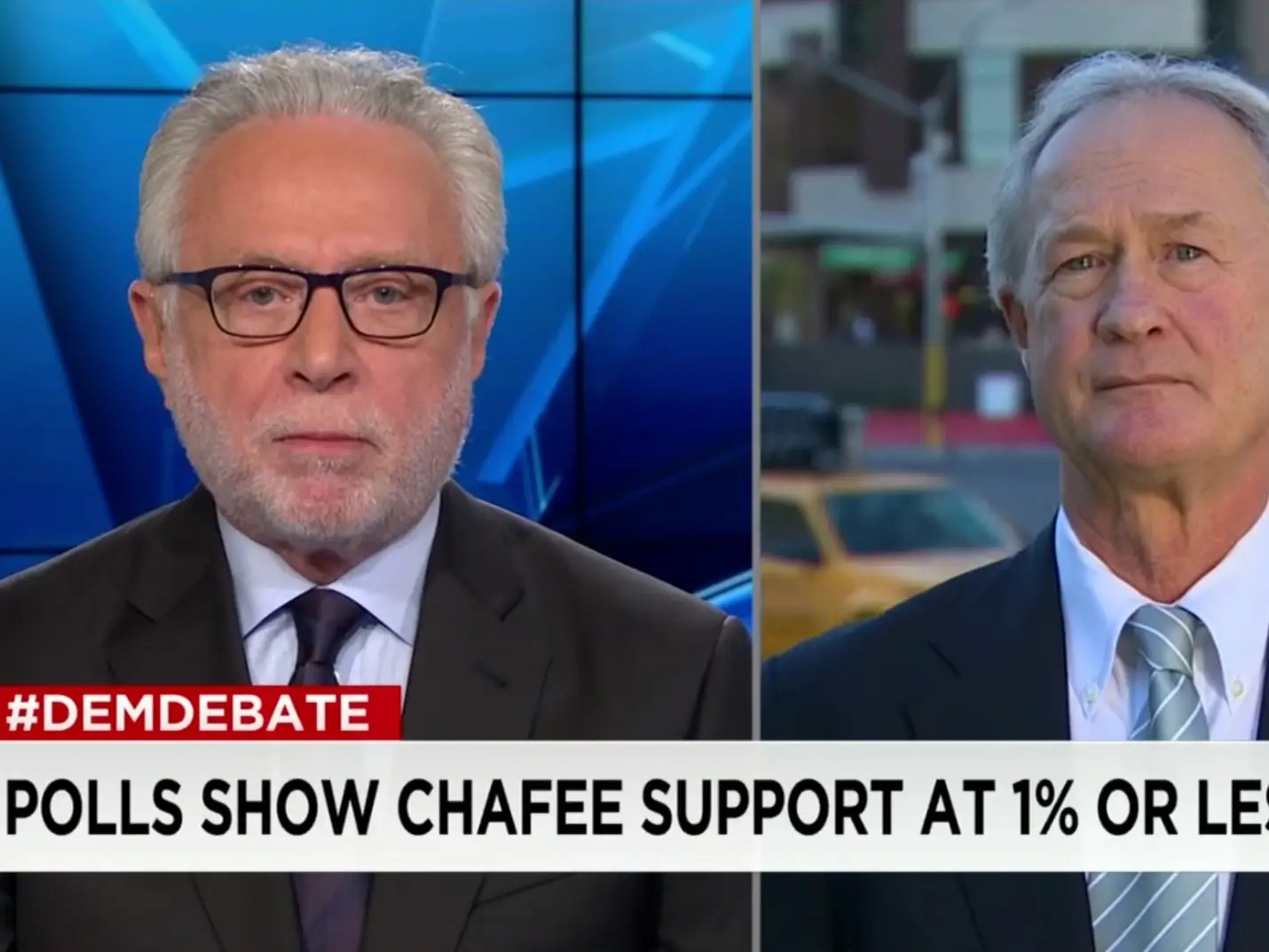 Blitzer\u0027s painful Chafee interview - Business Insider