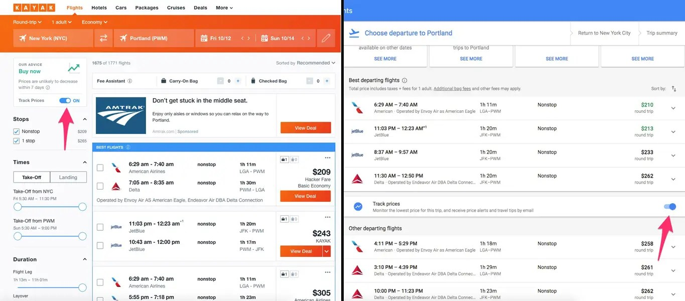Google Flights We Used Google Flights And Kayak To See Which Is Best For Booking
