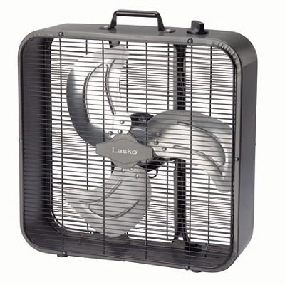 Buydigcom Lasko Metal Box Fan 20 Inch Black B20725