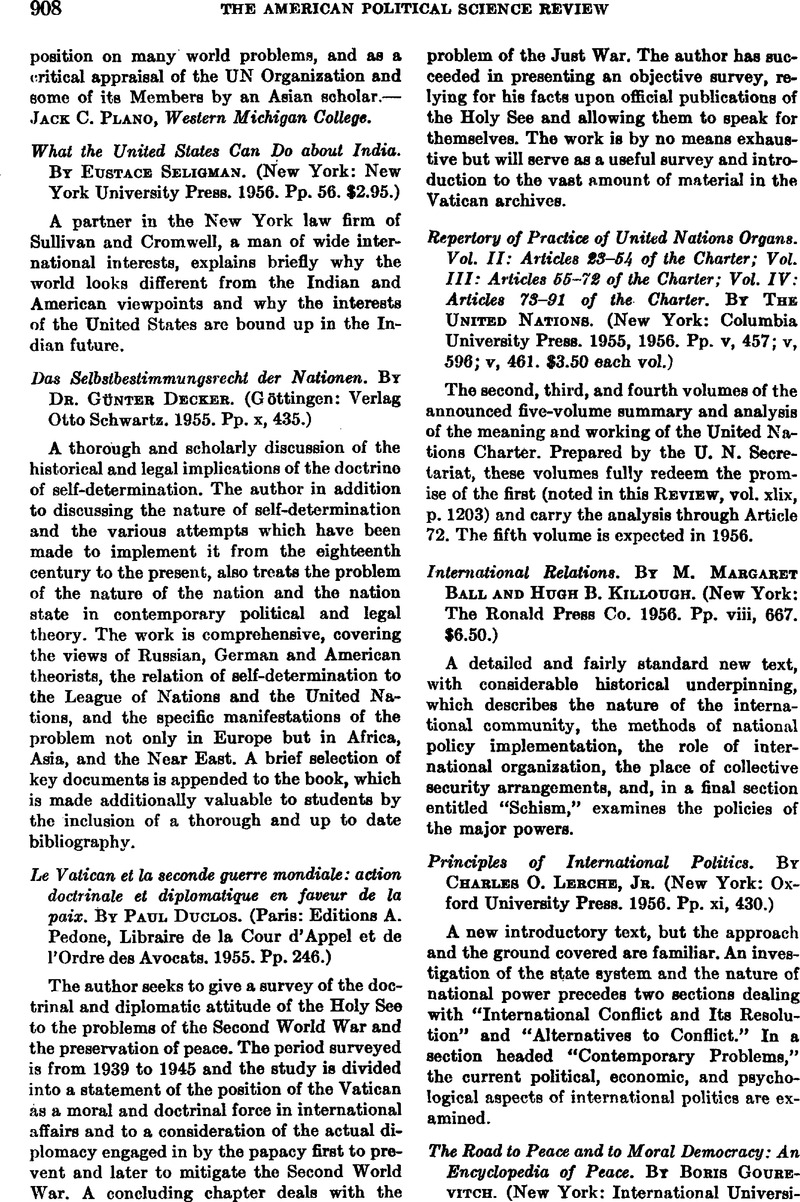 Vol Charter Repertory Of Practice Of United Nations Organs Vol Ii Articles