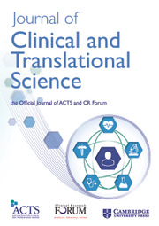 Journal Of Clinical Journal Of Clinical And Translational Science Cambridge Core