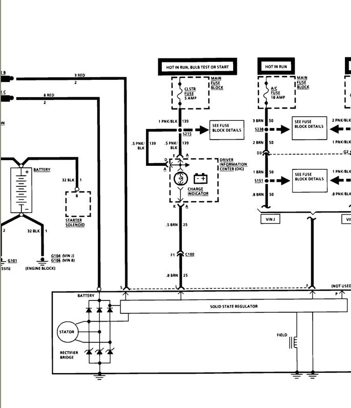 98 Dodge Ram Alternator Wiring Schematic Diagram Electronic