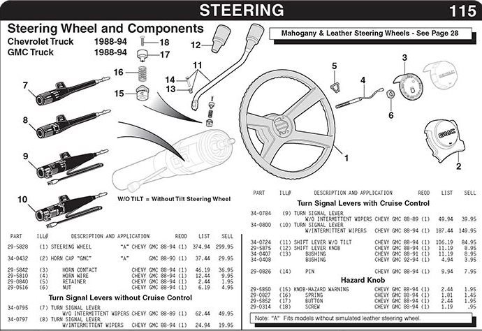 1992 Chevrolet Wiring Diagram Horn Wiring Diagram