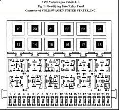 2000 volkswagen beetle fuse diagram