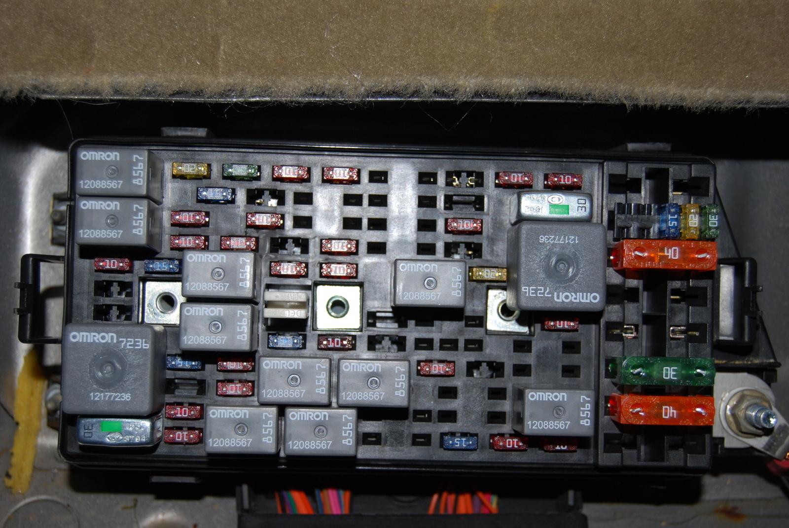 buick century fuse box