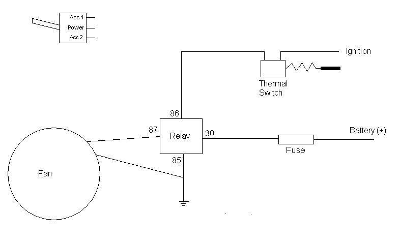 ➤ Diagram Ford Au Thermo Fan Wiring Diagram