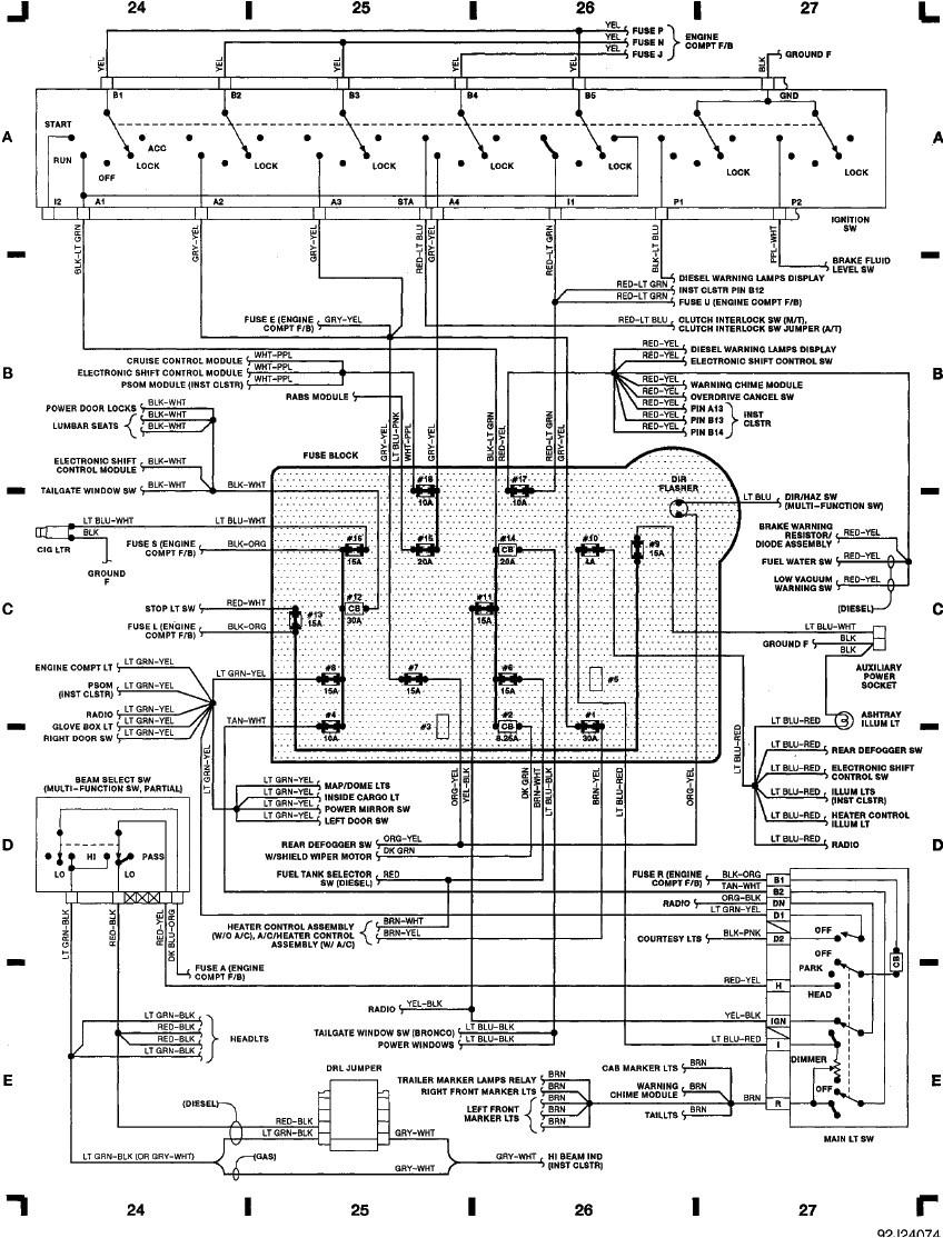 fuse diagram for 2009 lincoln mks