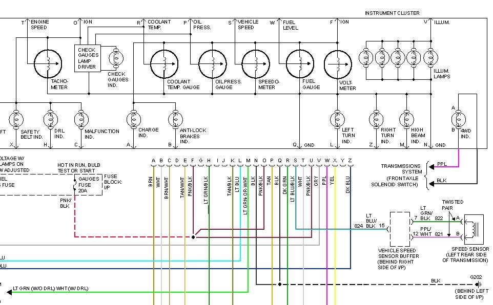 1995 Chevrolet 1500 Wiring Diagram Online Wiring Diagram