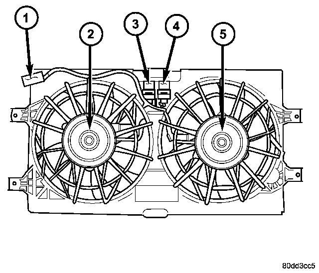 dodge intrepid fan wiring