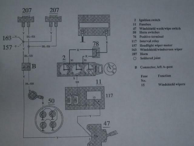 Volvo 850 Horn Wiring Wiring Diagram