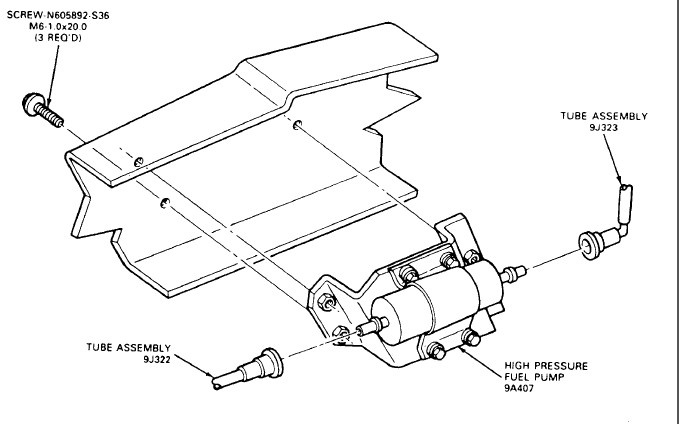 1988 Ford F 150 4x4 Fuel Pump Wiring Wiring Diagram