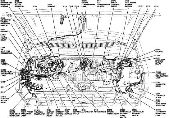 ford blower motor wiring diagram 1995 f 450