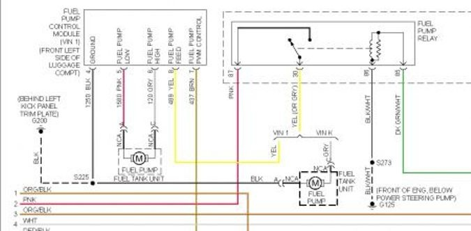 2004 Pontiac Grand Prix Wiring Schematic Index listing of wiring