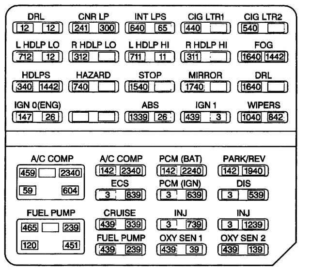 1998 Catera Engine Diagram Wiring Diagram