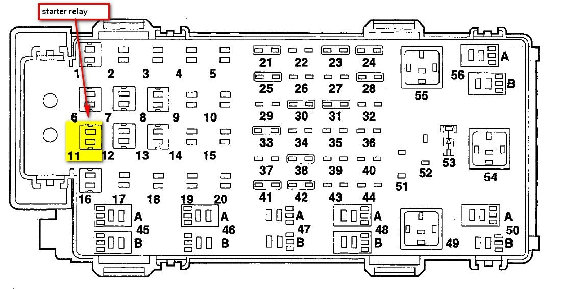 06 Ranger Fuse Diagram Schematic Diagram Electronic Schematic Diagram