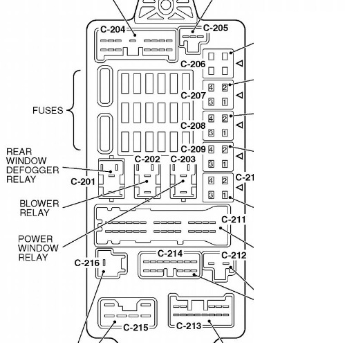 1998 Mitsubishi Eclipse Power Window Diagram
