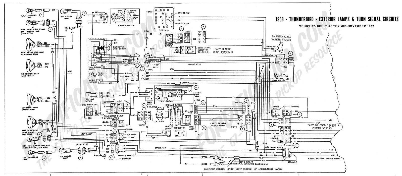1963 ford falcon fuse box location
