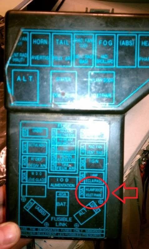 1991 Dodge Stealth Fuse Box circuit diagram template