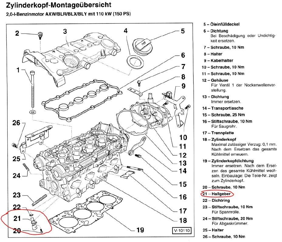 vw gti 2 0t engine diagram