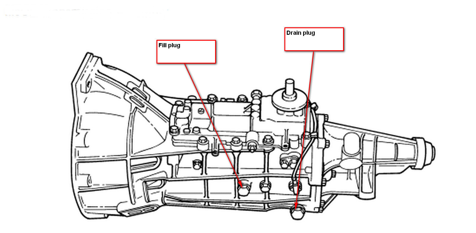 1992 ford ranger manual transmission diagram