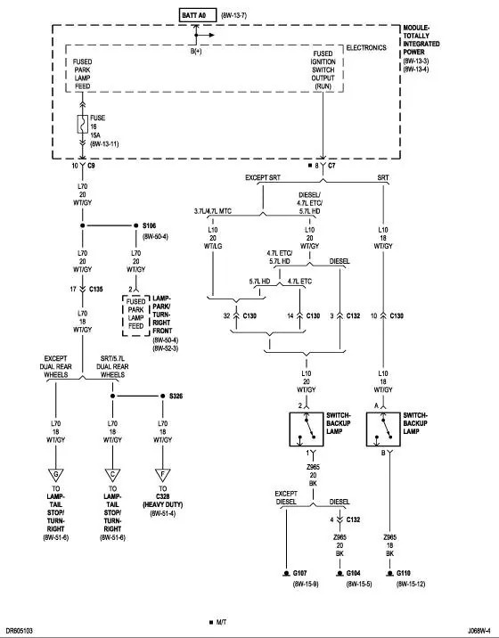 98 Dodge Wiring Schematic Wiring Diagram