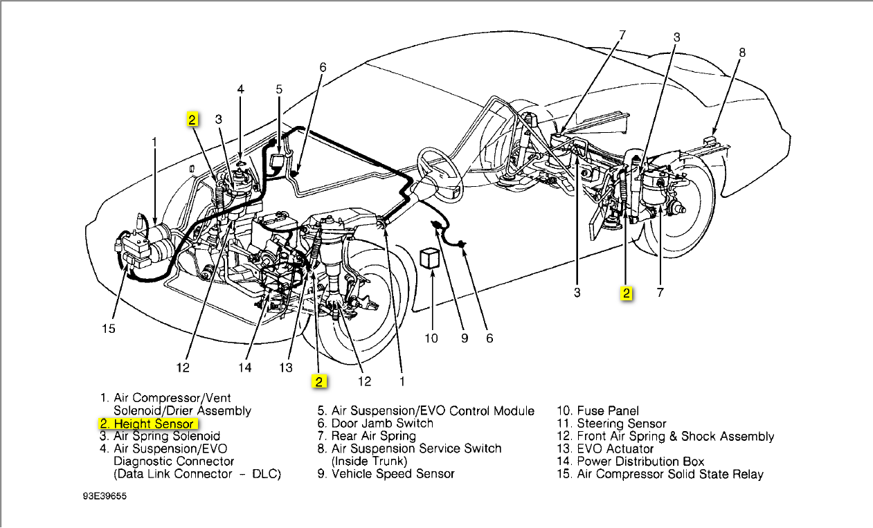 lincoln mark viii engine diagram