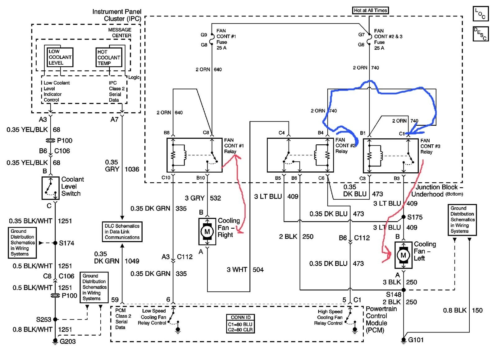 01 Camry 2 Cooling Fans Ac Wiring Diagram Simple Vectra C Audio Library