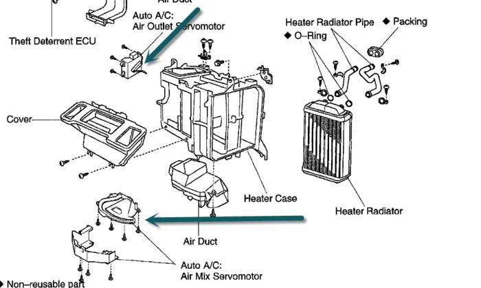 chrysler heater problems