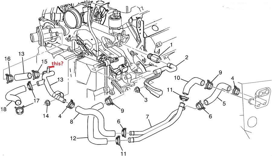 northstar engine cooling system diagram