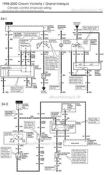 2001 mercury grand marquis radio wire diagram