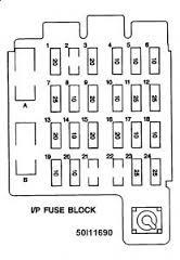 1995 chevy suburban fuse box diagram