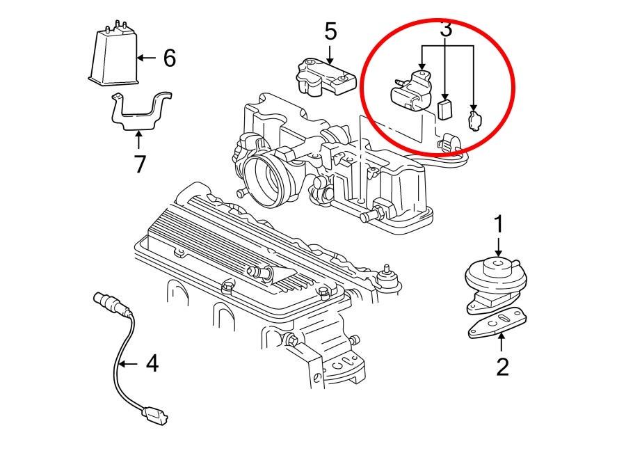 2004 chevrolet cavalier engine diagram
