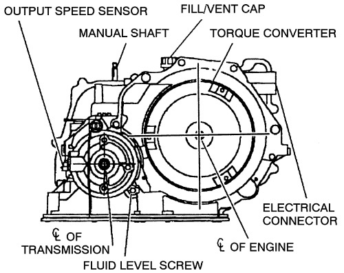 4t45e automatic transaxle diagram