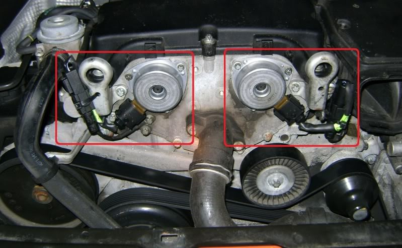 Mercedes-Benz CLK-Class Questions - fluid that appears to be oil
